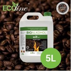 Биотопливо к биокаминам ECOline 5л. с ароматом КОФЕ