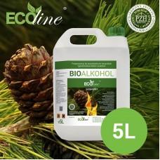 Биотопливо к биокаминам ECOline 5л. с ароматом СОСНЫ