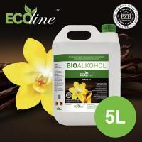 Биотопливо к биокаминам ECOline 5л. с ароматом ВАНИЛИ