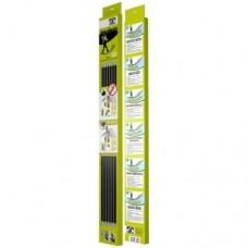 Гибкие ручки Hansa для чистки дымохода (длина 1м, 6 шт.)