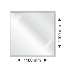 Квадратная стеклянная основа Parkanex 1100x1100mm