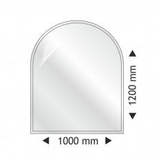 Полукруглая стеклянная основа Parkanex 1000x1200mm