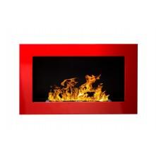 Биокамин Globmetal 650x400 Красный глянец
