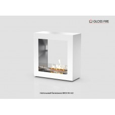 Напольный биокамин Brook-m2-500 торговой марки Gloss Fire