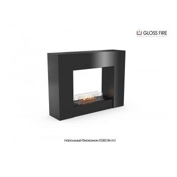 Напольный биокамин Edison-m1-400 торговой марки Gloss Fire