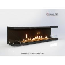 Встраиваемый биокамин Очаг Focus MS-арт.004 торговой марки Gloss Fire