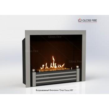Встраиваемый биокамин Очаг Focus MS-арт.005 торговой марки Gloss Fire