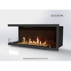 Встраиваемый биокамин Очаг Focus MS-арт.006 торговой марки Gloss Fire