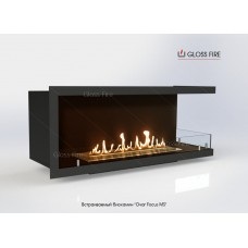 Встраиваемый биокамин Очаг Focus MS-арт.007 торговой марки Gloss Fire