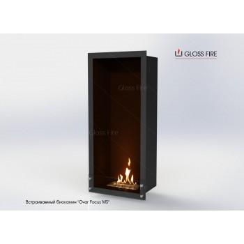 Встраиваемый биокамин Очаг Focus MS-арт.009 торговой марки Gloss Fire
