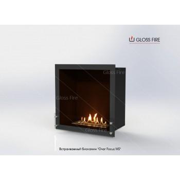 Встраиваемый биокамин Очаг Focus MS-арт.010 торговой марки Gloss Fire
