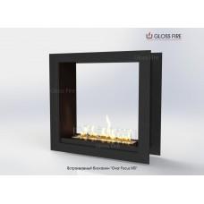 Встраиваемый биокамин Очаг Focus MS-арт.011 торговой марки Gloss Fire