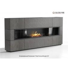 Встраиваемый биокамин Очаг Focus MS-арт.012 торговой марки Gloss Fire