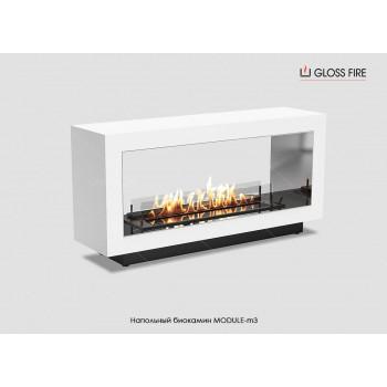 Напольный биокамин Module-m3 торговой марки Gloss Fire