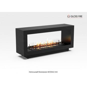 Напольный биокамин Module-m5 торговой марки Gloss Fire