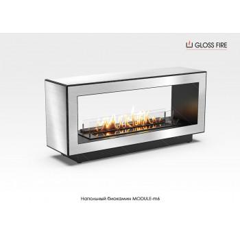 Напольный биокамин Module-m6 торговой марки Gloss Fire