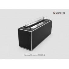 Напольный биокамин Render-m2 торговой марки Gloss Fire