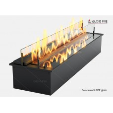 Биокамин SLIDER glass 600 торговой марки Gloss Fire