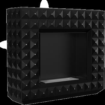 Биокамин Kratki EGZUL с кристаллами Swarovski черный матовый TÜV