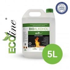 Биотопливо к биокаминам ECOline 5л. БЕЗ ЗАПАХА