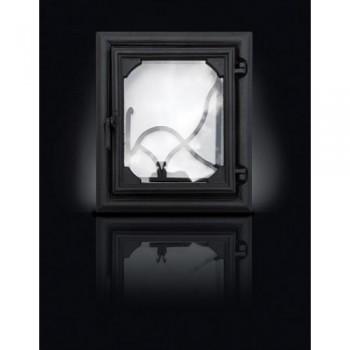 Печные дверцы DELTA Lira 360х420