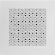 Вентиляционная решетка Kratki 17х17 см Белая без жалюзи