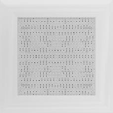 Вентиляционная решетка Kratki 17x17 см Oskar белая без жалюзи