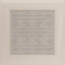 Вентиляционная решетка Kratki 17x17 см Oskar кремовая без жалюзи