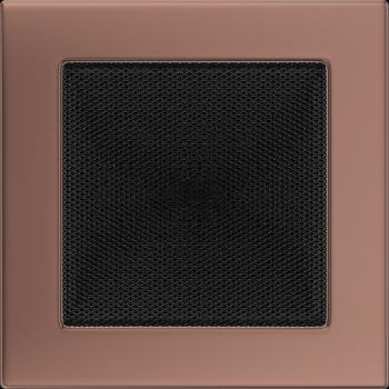 Вентиляционная решетка Kratki 17x17 см Медь гальванизированная без жалюзи