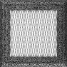 Вентиляционная решетка Kratki 17x17 см Oskar Медь крашеная без жалюзи