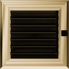 Вентиляционная решетка Kratki 17x17 см Oskar с жалюзи
