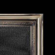 Вентиляционная решетка Kratki 17x17 см Рустикальная без жалюзи