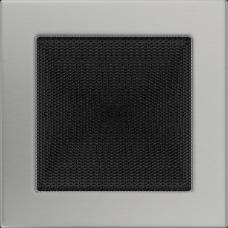 Вентиляционная решетка Kratki 17x17 см Шлифованная без жалюзи