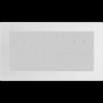 Вентиляционная решетка Kratki 17x30 см Белая без жалюзи