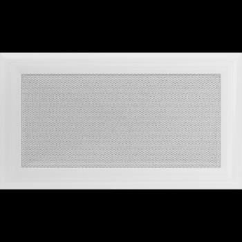 Вентиляционная решетка Kratki 17x30 см Oskar Белая без жалюзи