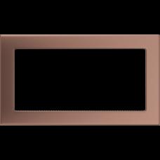 Вентиляционная решетка Kratki 17x30 см Медь гальванизированная без жалюзи