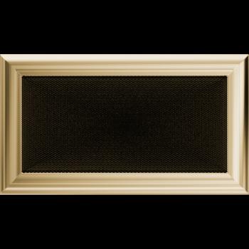 Вентиляционная решетка Kratki 17x30 см Oskar без жалюзи