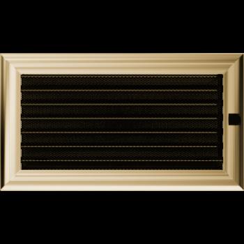Вентиляционная решетка Kratki 17x30 см Oskar с жалюзи