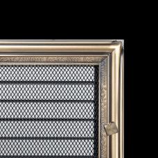 Вентиляционная решетка Kratki 17x30 см Рустикальная с жалюзи