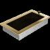 Вентиляционная решетка Kratki 17x30 см Золотая с жалюзи