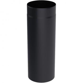 Дымоходная труба из черной стали 0,5м 120Ø