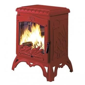 Печь Invicta Chambord красная