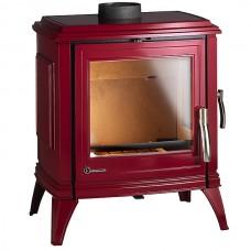 Чугунная печь Invicta Sedan 10 красная