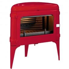 Чугунная печь Invicta Luna красная