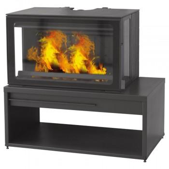 Дизайнерская печь-камин Plamen Eco Minimal 50